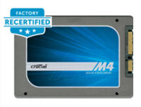 From $49.99 Factory Recertified Crucial M4 SSD