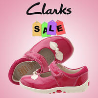 Up to 67% Off + Extra 10% Off Clarks Kids' Shoes on Sale @ 6pm.com