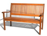 $79.00 Strathwood All-Weather Hardwood 2-Seater Bench