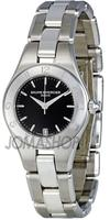 $499.00 Baume and Mercier Linea Black Dial Ladies Watch 10010