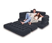 $58.99 Intex Inflatable Pull-Out Sofa & Queen Bed Mattress Sleeper