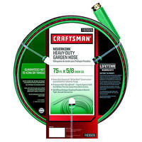 $19.99 Craftsman Heavy Duty Neverkink® Self-Straightening Hose - 75-ft