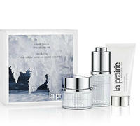 Up to $700 Gift Card + Free 3 Pc Deluxe Gifts + Sample Filled Tote + Grey Cosmetic Pouch with La Prairie Purchase  @ Saks Fifth Avenue