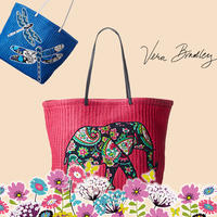 Up to 72% Off+Extra 10% Off Vera Bradley Handbags & Accessories