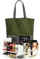 Exclusive Sample-filled Green Tote Bag With $100 Beauty & Fragrance Purchase  With Beauty Purchase @ Saks Fifth Avenue