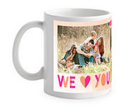 Free 11oz White Mug or Save $15.99 on All Other Mugs @ tinyprints.com