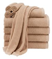 $9.81 Mainstays Value 10-Piece Towel Set, Tan