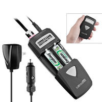 $4.99 Lenmar All-In-One Battery Charger with Wall/Car Adapter, USB Port, & LCD Display