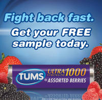 Free Sample of Tums® Ultra® Maximum Strength, 12 Chewable Tablets @ Costco
