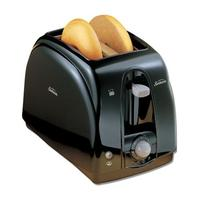 $11.99 Sunbeam - 2-Slice Wide-Slot Toaster - Black