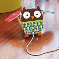 $11.78 Skip Hop Treetop Friends Flapping Owl Pull Toy
