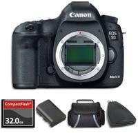 $2709.99 Canon EOS 5D Mark III Camera Body with 2x Battery + 32GB + Case