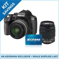 From $396.95 Pentax K-50 Body, Kits and Bundles Sale + Free $50 Adorama Gift Card + 4% Rewards