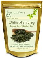 $3.99 White Mulberry Loose Leaf  Herbal Tea - Weight Loss and Blood Sugar Controller 100 Grams (3.5 Oz)