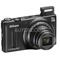 $129.99 Nikon COOLPIX S9600 16 MP Wi-Fi Digital Camera with 22x Zoom Lens and 1080p Video