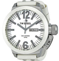 $127.99 TW Steel CEO Canteen Mother of Pearl Dial 50MM Mens Watch CE1038