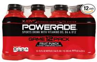 $4.73 + FS POWERADE Fruit Punch, 12 ct, 12 FL OZ Bottle