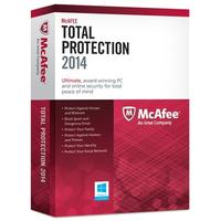 $9.99 + $10 e礼品卡 McAfee Total Protection 2014 - 3PC 网络安全软件