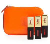 $70  Yves Saint Laurent Beaute Exclusive Holiday 2014 Glossy Stain Set