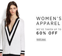 Up to 60% OFF Women's Apparel Sale @ Saks Fifth Avenue