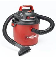$24.99 Craftsman Portable 2.5 Gallon 2 Peak HP Wall Mount Wet/Dry Vac