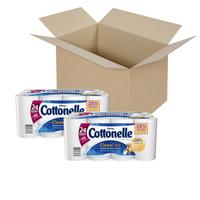 $20.74 Cottonelle Clean Care Toilet Paper, Double Roll, 24 Count (Pack of 2)