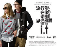 Newly Launched! Hong Kong fashion collective I.T @ Nordstrom