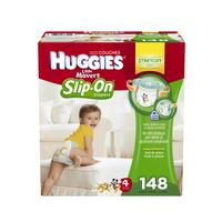 $4 Off Coupon Huggies Little Movers Slip-On Diaper Pants, Size 4, 148ct
