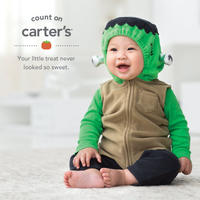 Up to 75% Off+Extra 20% Off Select Halloween Baby Costumes,Tees,Sets and more @ Carter's