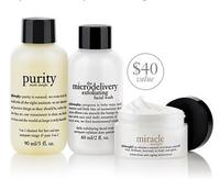 Free 3-pc Gift Set With Any Purchase of $35 @ philosophy