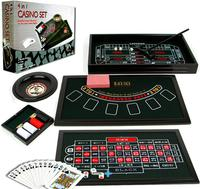$25.99 4-in-1 Casino Game Table Set