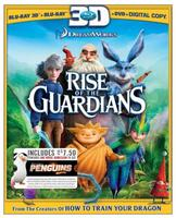 $9.99 Rise of the Guardians with Penguins of Madagascar Movie Money (3D Blu-ray)