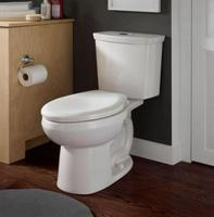 $147  American Standard H2Option 2-Piece Dual Flush 1.6/1.0 GPF Right Height Elongated Toilet