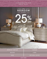 25% Off Horchow Bedroom Event &  Free Shipping Sitewide @ Horchow