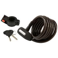 $5.00 Master Lock  Key Lock Rubberized Cable, 6'' x 12 mm