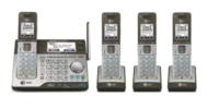 $69.99 AT&T 4 Handset Connect to Cell™ Answering System with Dual Caller ID