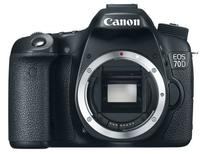 "$767.36 Refurb Canon EOS 70D 18 MP 3.0"" Digital SLR Camera Body"