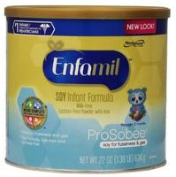 $87.52 Enfamil Prosobee Soy Infant Formula Powder with Iron, 22 Ounce (Pack of 4)