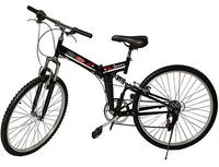 "$137.99 26"" Folding 6 Speed Mountain Bike"