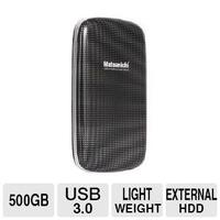 $29.99 Matsunichi Portable External Hard Drive - 500GB, USB 3.0