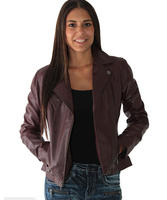 $159.99 Andrew Marc Brianna Women's Leather Motorcycle Jacket