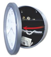 $11.99 Embassy Wall Clock with Hidden Safe