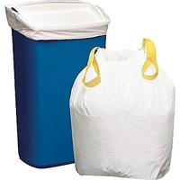 $5.99 Brighton Professional™ Trash Bags, Drawstring, White, 13 Gallon, 50 Bags/Box