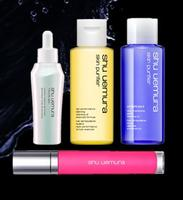 FREE 4-Pc. Gift set with any $50 order @ Shu Uemura