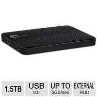 $59.99 WD My Passport Ultra 1.5TB USB 3.0 Portable Hard Drive