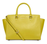 $214.39 MICHAEL Michael Kors Selma Large East West Satchel