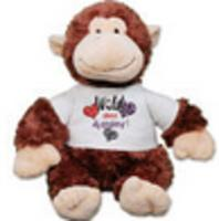 $15.98 Personalized Wild About You Monkey