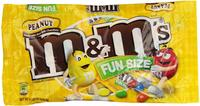 $12.11 M&M's Fun Size Peanut Chocolate Candy, 11.23-Ounce (Pack of 6)
