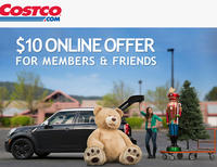 $10 off $100 Sitewide @ Costco