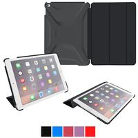 $8.00 RooCase iPad Air 2 Slim Case + 4 Pack Of Crystal Clear and Anti-Glare Matte Screen Protectors